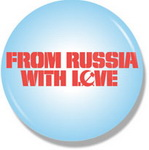 "Значок ""From Russia with LOVE"""