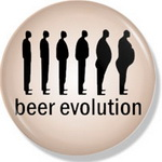 "Значок ""Beer evolution"""